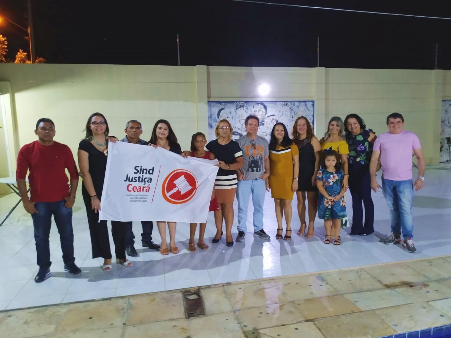 TAUÁ E CRATEÚS RECEBEM CONFRATERNIZAÇÕES NATALINAS DO SINDJUSTIÇA
